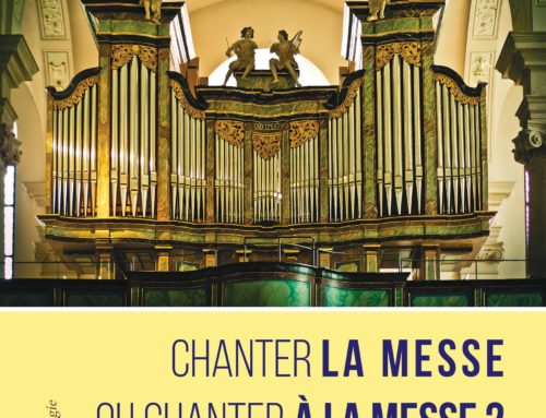 CHANTER LA MESSE OU CHANTER A LA MESSE ?